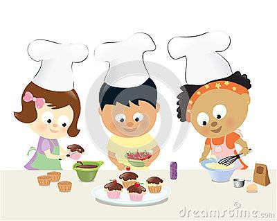 Kochen kinder clipart kostenlos clipart transparent Mutter Und Tochter, Die Spaß Kochen Und Haben Lizenzfreies ... clipart transparent