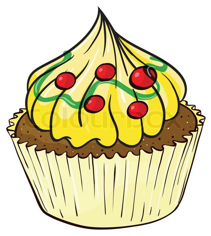 Kochen kinder clipart kostenlos jpg library Clipart, cupcake, backen | Vektorgrafik | Colourbox jpg library