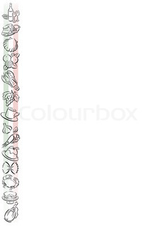Kochen und backen clipart rahmen jpg transparent download Fish, shrimp, symbol   Stock Vector   Colourbox jpg transparent download