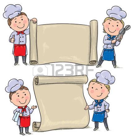 Kochen und backen mit kindern clipart clip freeuse Kinder Kochen Lizenzfreie Vektorgrafiken Kaufen: 123RF clip freeuse