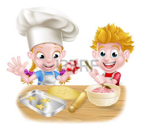 Kochen und backen mit kindern clipart jpg free Backen Lizenzfreie Vektorgrafiken Kaufen: 123RF jpg free