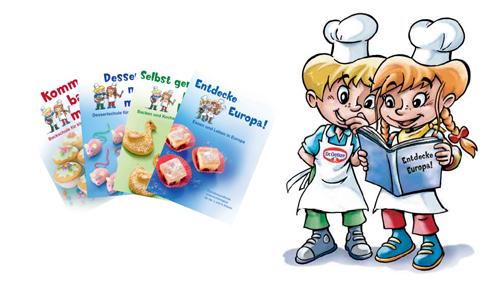 Kochen und backen mit kindern clipart jpg free stock Für Kinder: Neue Aktionsmappe von Dr. Oetker – Entdecke Europa ... jpg free stock