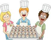 Kochen und backen mit kindern clipart png library Home Baking Clip Art - Royalty Free - GoGraph png library