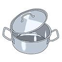 Kochtopf mit deckel clipart svg transparent download Verfahren zur Stofftrennung svg transparent download