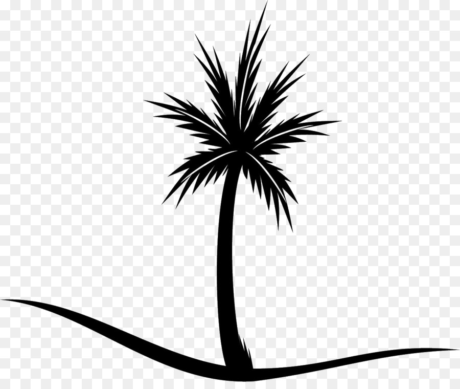 Koh clipart image transparent library Black And White Flower clipart - Tree, Plant, Flower ... image transparent library