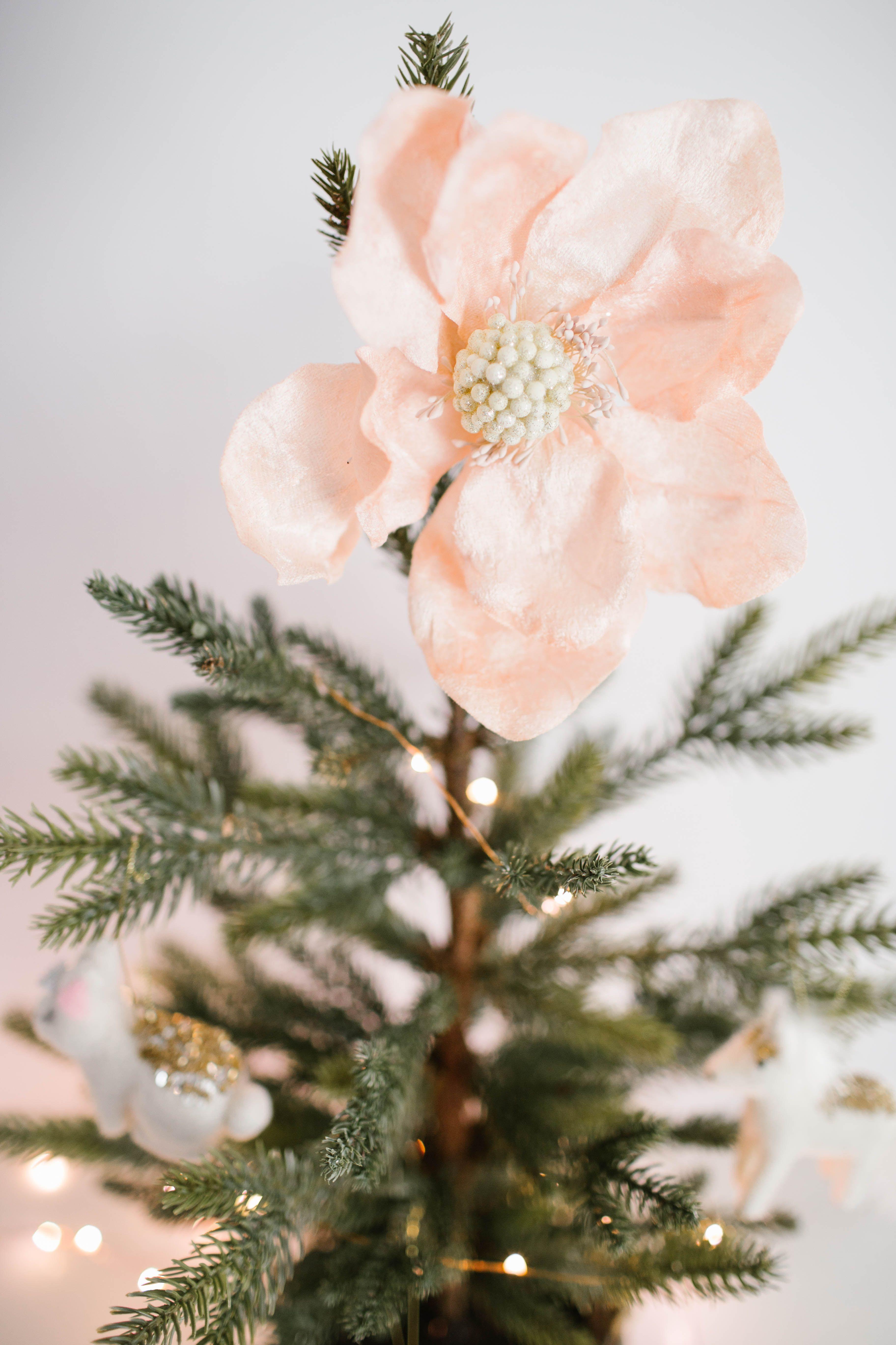 Kohls clipart christmas black and white library LC Lauren Conrad Flower Christmas Ornament | Holiday Season ... black and white library