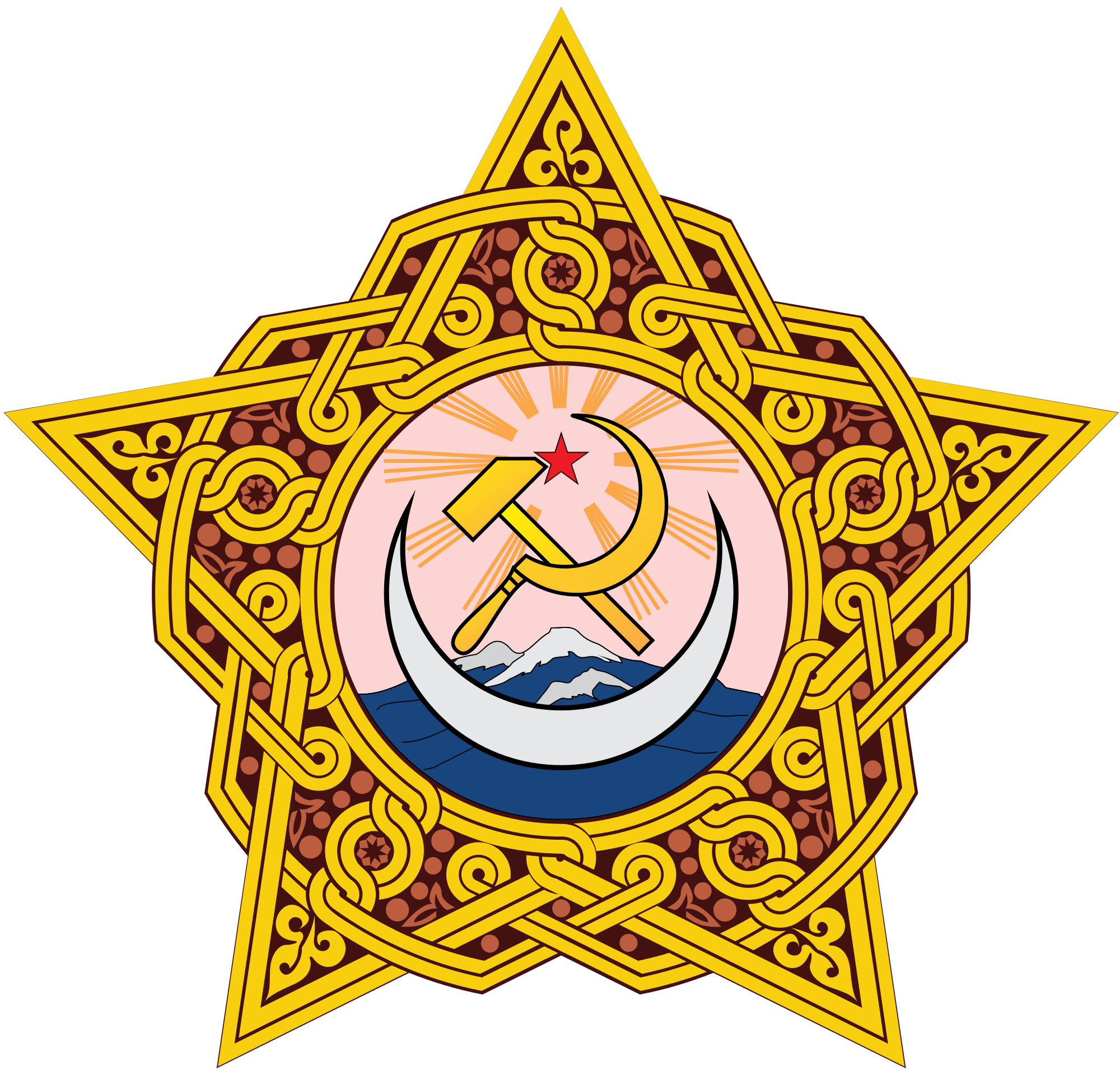 Kola crown clipart jpg transparent download Transcaucasian Socialist Federative Soviet Republic (1922-1924 ... jpg transparent download