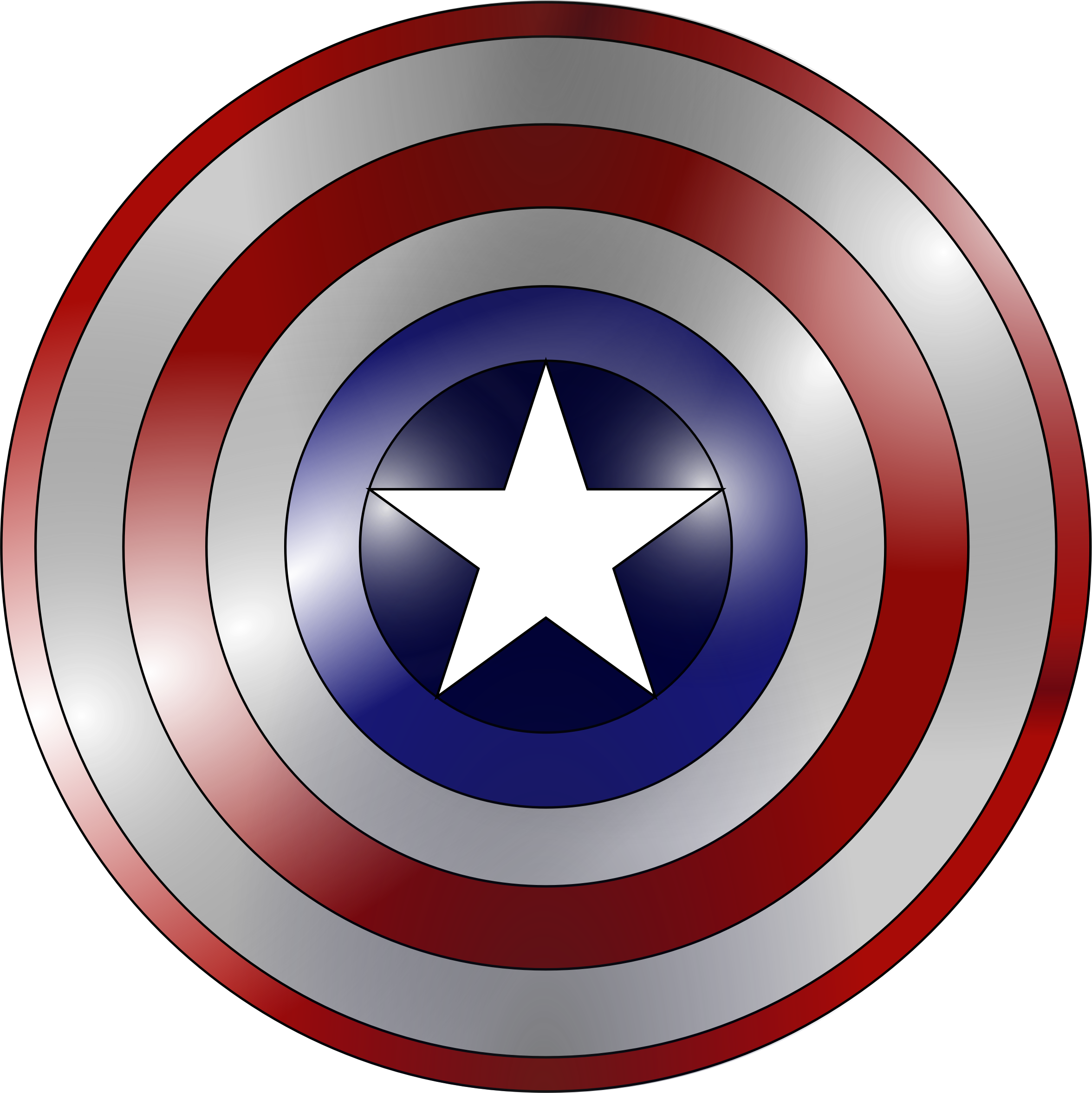 Kola crown clipart png freeuse download Captain America shield (metal base) by Fred the Oyster | cricut ... png freeuse download