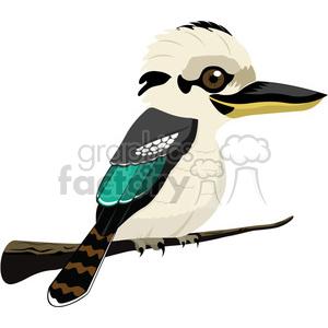 Kookaburra clipart free clip free library Australian Kookaburra bird clipart. Royalty-free GIF, JPG ... clip free library