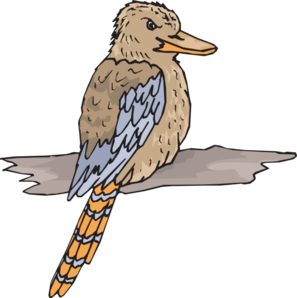 Kookaburra clipart free clip art royalty free Kookaburra Clip Art at Clker.com - vector clip art online ... clip art royalty free
