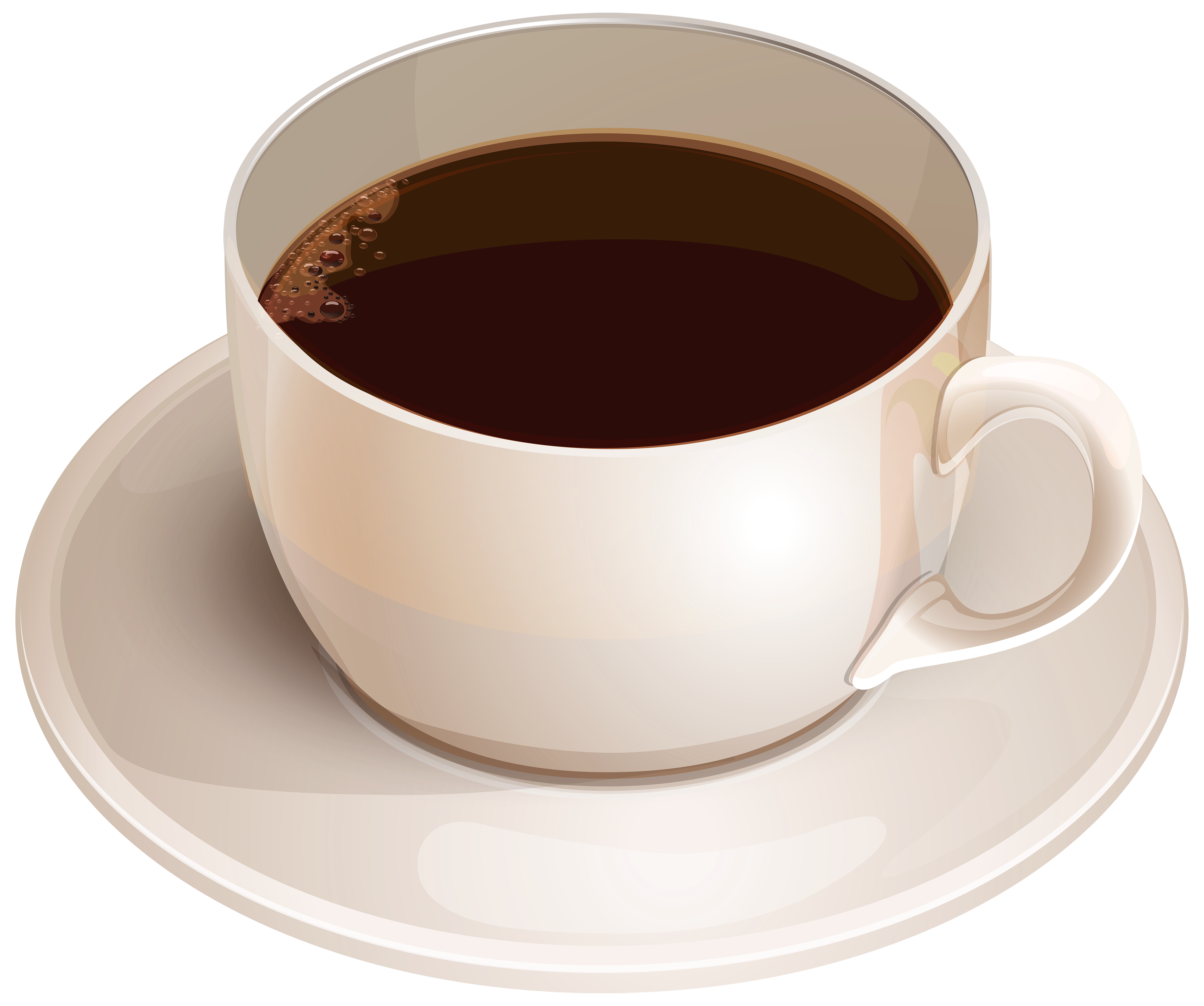 Kopi clipart image freeuse library White Cup with Coffee PNG Clipart - Best WEB Clipart image freeuse library