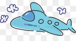 Korean air clipart freeuse library Travel Blue Background png download - 2110*660 - Free Transparent ... freeuse library