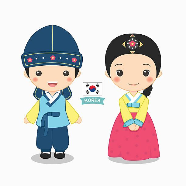 Korean clipart free