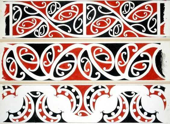 Kowhaiwhai patterns clipart banner library stock kowhaiwhai | Applied Art Pattern | Pinterest banner library stock
