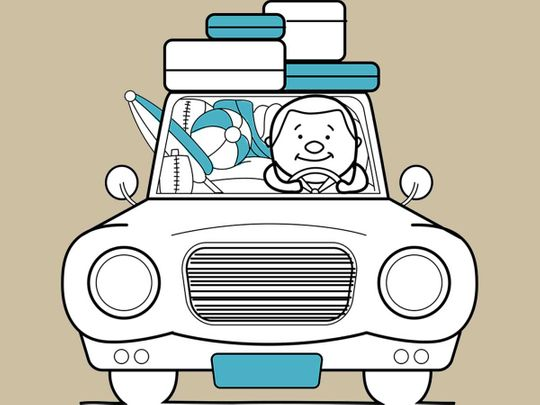 Kr motors clipart used cars clip art freeuse download UAE motorists warned not to stack excess luggage on car roofs ... clip art freeuse download