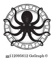 Kracken clipart clip freeuse Kraken Clip Art - Royalty Free - GoGraph clip freeuse