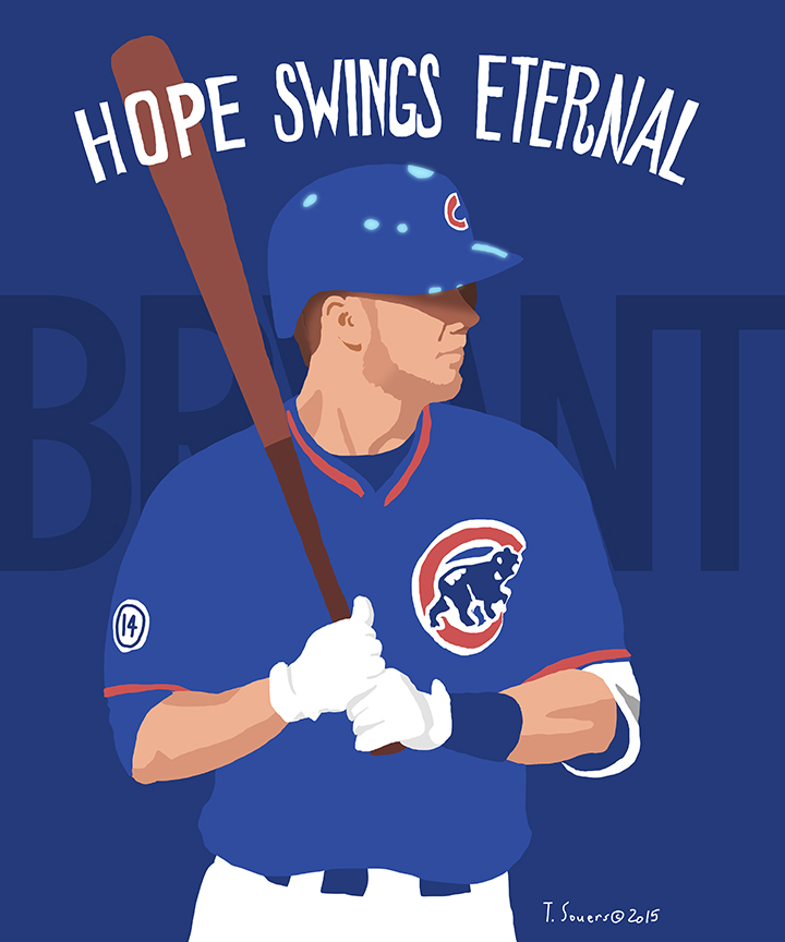 Kris bryant clipart png black and white The Friday Kris Bryant Rumor. Is it true? - Cubby-Blue png black and white