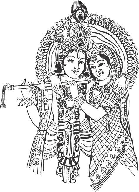Krishna image clipart clipart royalty free stock Radha Krishna Clipart   Ganesh in 2019   Krishna art, Krishna ... clipart royalty free stock