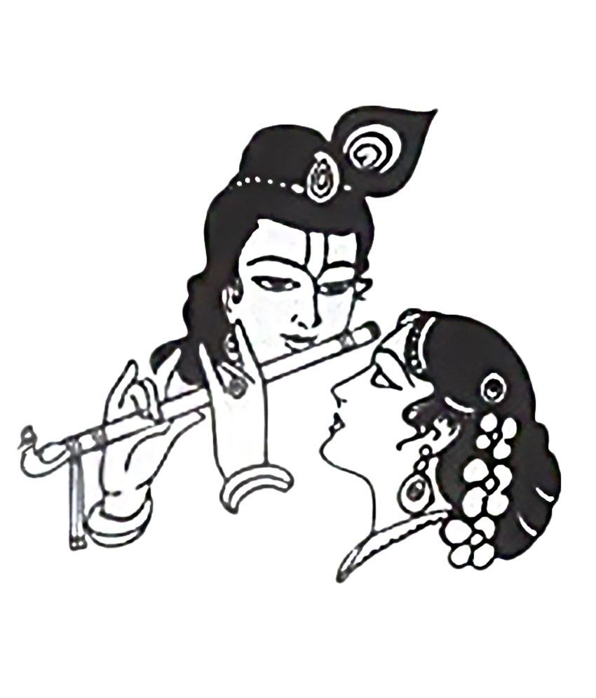 Krishna image clipart picture freeuse library Image result for radha krishna clipart   radha krishna in 2019 ... picture freeuse library