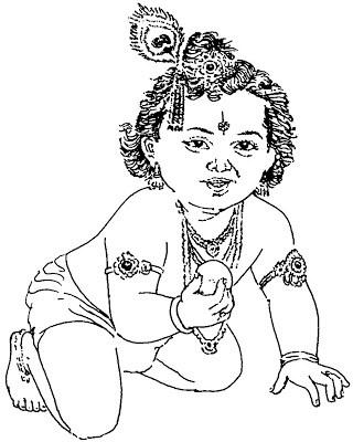 Krishna image clipart clip art library Shri krishna clipart » Clipart Portal clip art library