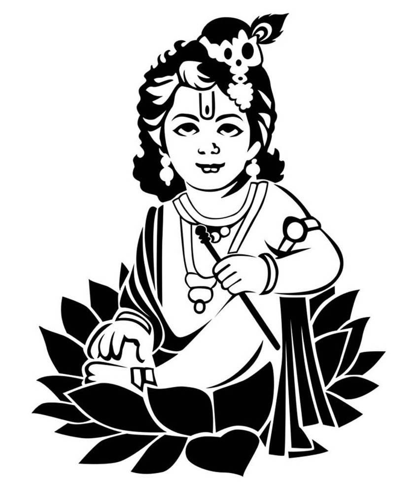 Krishna image clipart banner transparent 74+ Krishna Clipart   ClipartLook banner transparent
