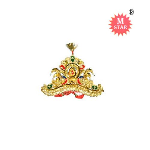 Krishna mukut clipart clipart library stock Golden Mukut - View Specifications & Details of Fashion Crown by ... clipart library stock
