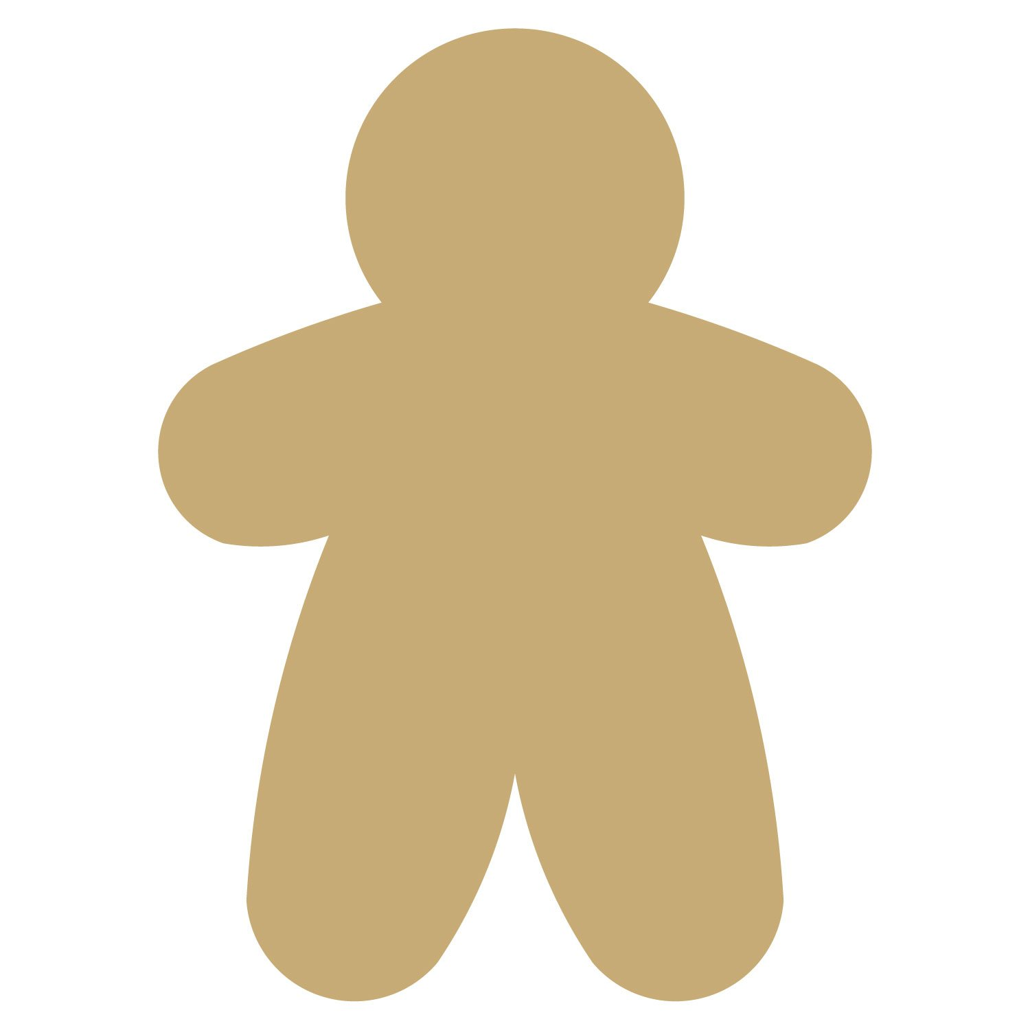Kristi w designs layered clipart gingerbread men svg freeuse library Gingerbread Man #2 svg freeuse library