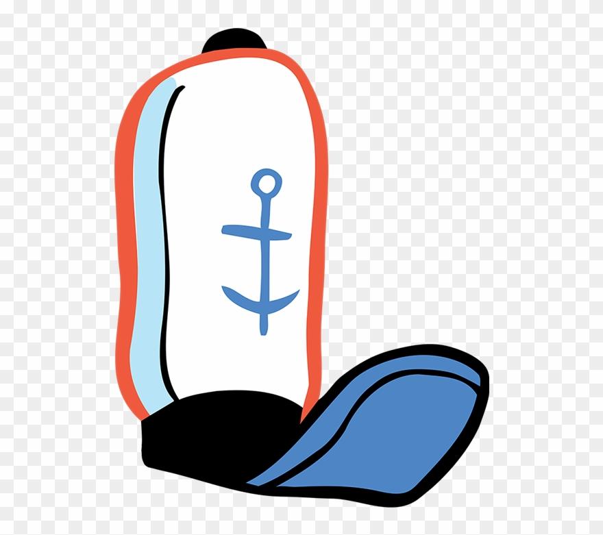 Krusty krab hat clipart banner transparent download Krusty Krab Employee Hat Clipart (#2242869) - PinClipart banner transparent download