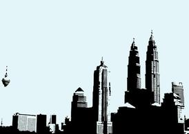 Kuala lumpur clipart svg library Free Kuala Lumpur Skyline Clipart and Vector Graphics - Clipart.me svg library
