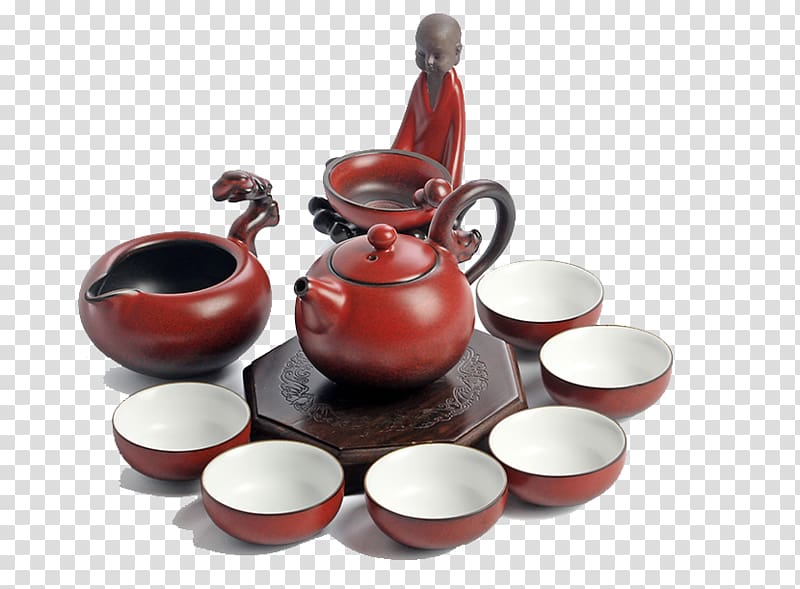 Kung fu tea clipart image transparent library Teaware Teapot Porcelain Coffee cup, Set of ceramic tea set Kung Fu ... image transparent library