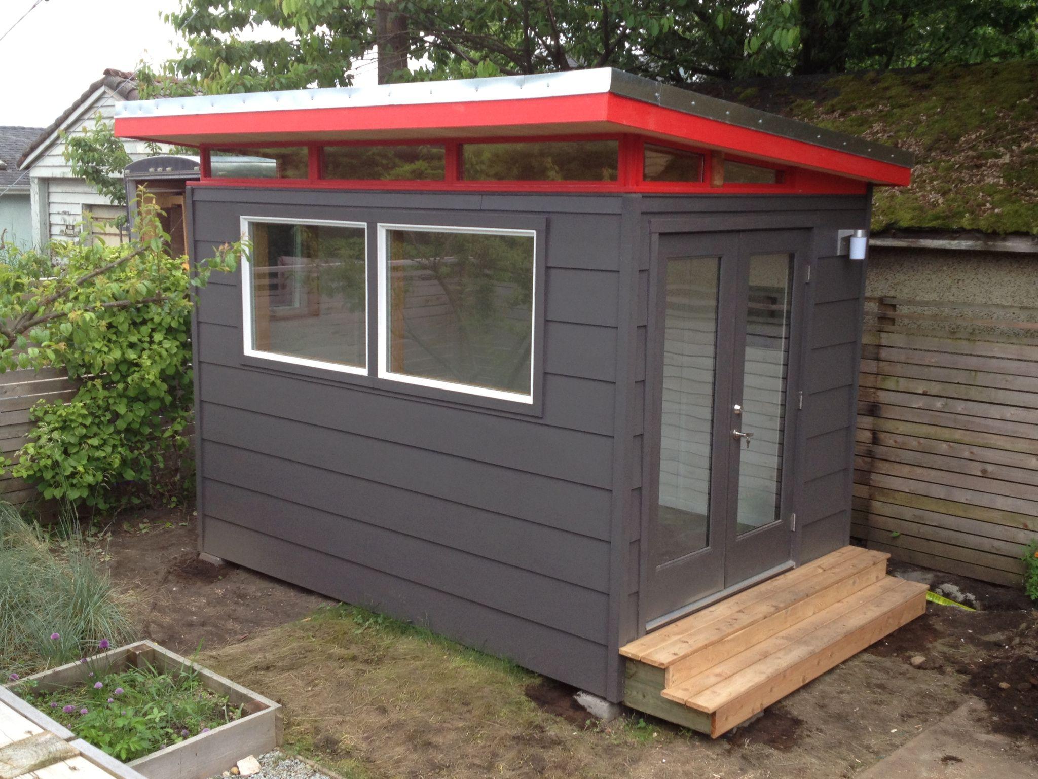Kwik built kit homes clipart graphic freeuse 8x12 Backyard Music Studio - Prefab Music Studio Kit   Office shed ... graphic freeuse