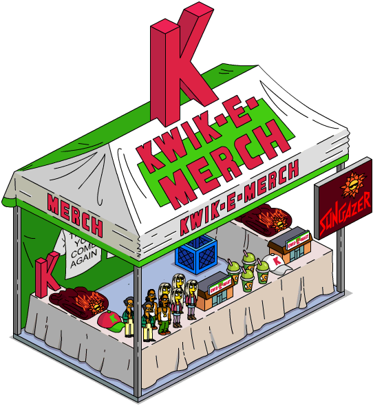 Kwik built kit homes clipart clip freeuse download Kwik-E-Merch   The Simpsons: Tapped Out Wiki   FANDOM powered by Wikia clip freeuse download