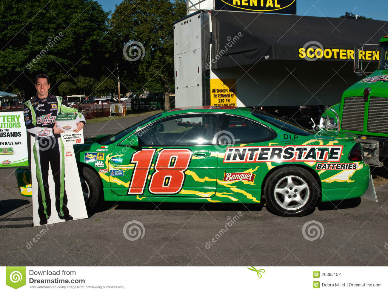 Kyle busch clipart image library Race Car Driver, Kyle Busch's Car Editorial Photography - Image ... image library