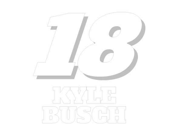 Kyle busch clipart svg royalty free Printable Kyle Busch #18 Nascar Coloring Sheet | Nascar Coloring ... svg royalty free