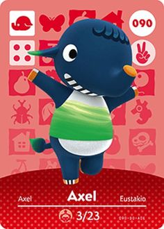 Kyle home character clipart royalty free stock Nintendo Animal Crossing Happy Home Design Kyle Amiibo Card 024 ... royalty free stock