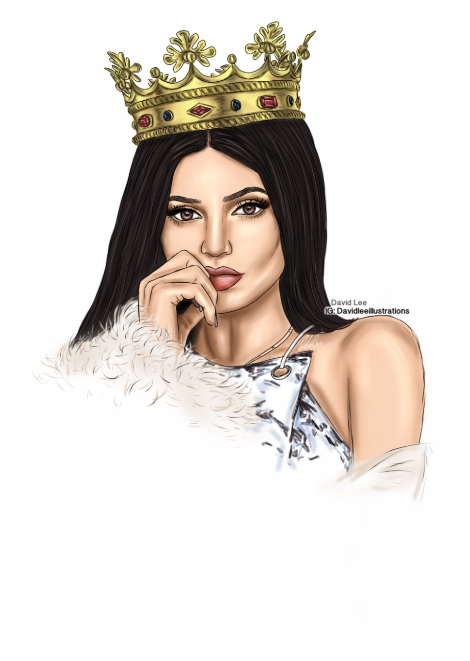 Kylie clipart svg free library Обои Tumblr Wallpaper, Dope Art, Kendall And Kylie - Iphone 6 Kylie ... svg free library