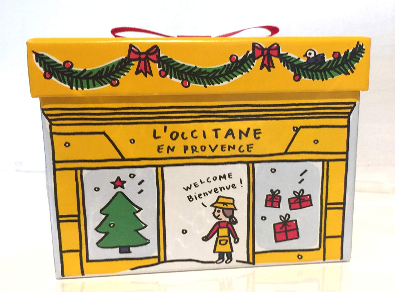 L occitane logo clipart picture royalty free L\'Occitane Christmas Gift Box picture royalty free