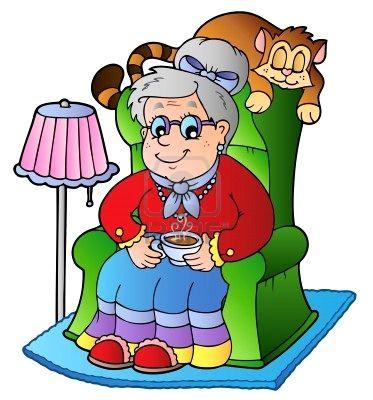 La abuela clipart clip art royalty free stock Ecos De Los Altos: CORRAN…LLEGO LA ABUELA - Free Clipart clip art royalty free stock
