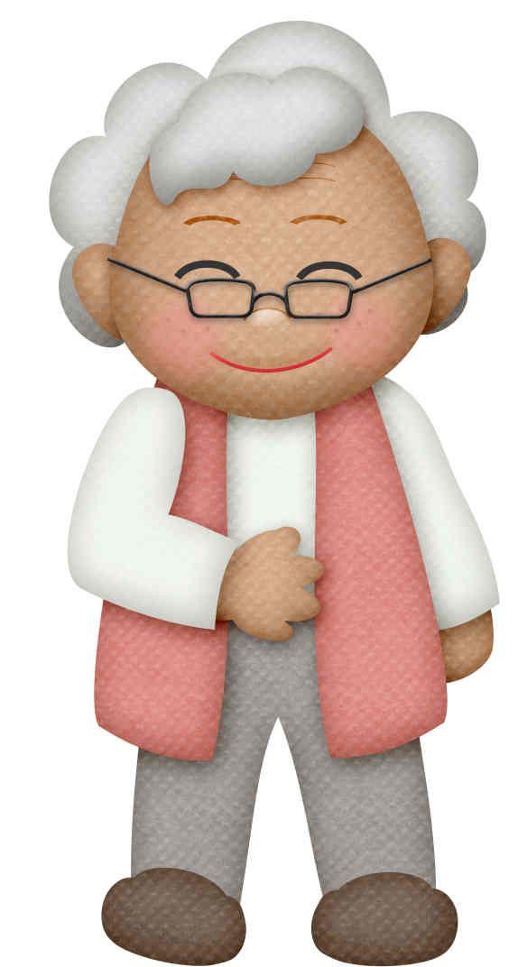 La abuela clipart graphic free library Clipart de los Abuelos. | Día de Abuelit@s | Dibujo abuela, Clipart ... graphic free library