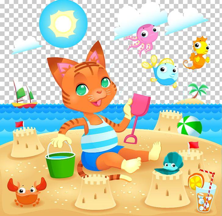 La playa clipart svg royalty free download Playa De La Arena Beach Seaside Resort Illustration PNG, Clipart ... svg royalty free download