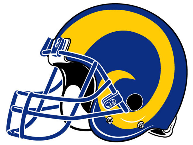 La rams helmet clipart graphic free library The five most important useless facts about the St. Louis Rams | For ... graphic free library