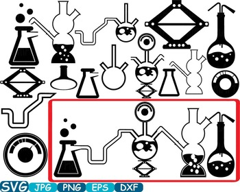 Lab experiment clipart svg download Science School Clip art svg math atom book experiment lesson biology lab  -347s svg download