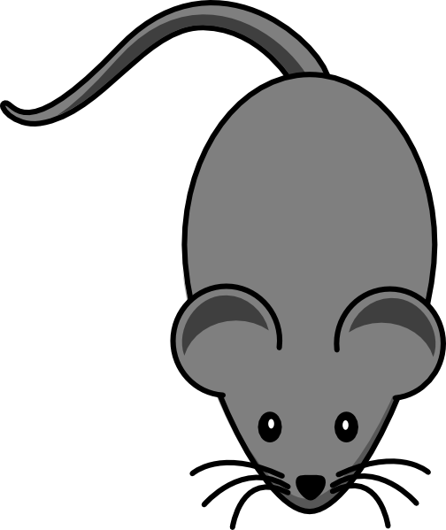 Simple cartoon mouse clipart png royalty free library mouse | dark grey lab mouse clip art | Squirrels Mice Acorns Ground ... png royalty free library
