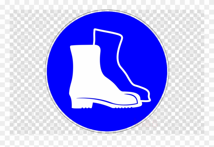 Lab shoes clipart picture library library Boots Safety Sign Clipart Steel-toe Boot Personal Protective ... picture library library