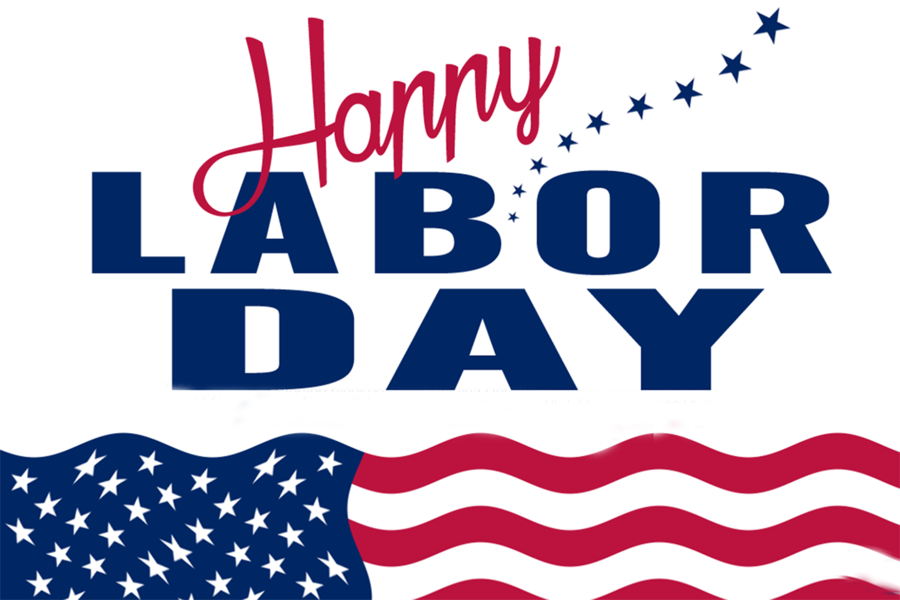 Labor day 2017 clipart clip art library download Labor Day Blue Background clipart - Holiday, Blue, Text, transparent ... clip art library download