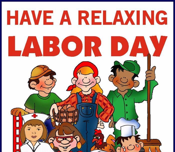 Labor day 2017 clipart clipart black and white download Free Labor Day Clip Art Online | Filosofa\'s Word clipart black and white download