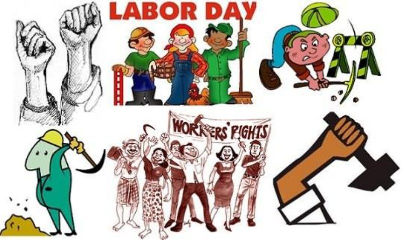 Labor day 2018 clipart vector free library Latest Happy Labor Day Clipart Images Free Download 2019 vector free library