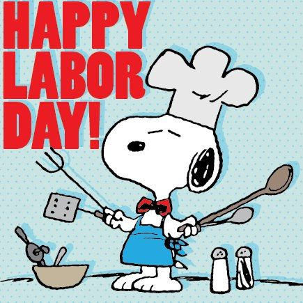 Labor day clipart clipart picture black and white download snoopy labor day clip art | happy labor day! | Nature | Pinterest ... picture black and white download