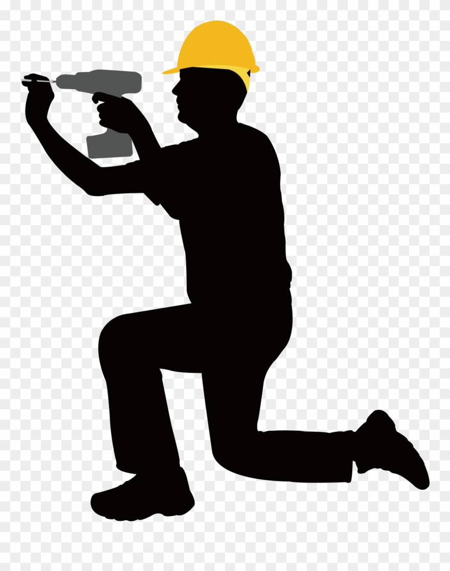 Laborers clipart picture black and white stock Construction Clipart Laborer - Clip Art Construction Worker ... picture black and white stock