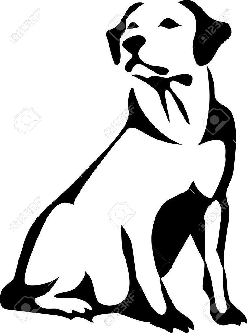 Labrador retriever clipart black white free image black and white download Lab Dog Clipart | Free download best Lab Dog Clipart on ... image black and white download